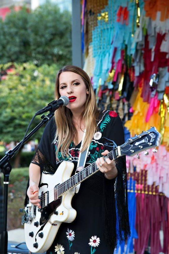 Performer Caitlin Smith