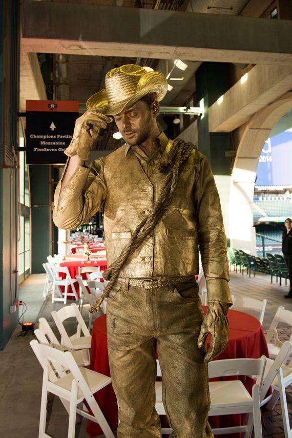 Gold-cowboy